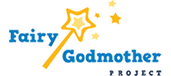 Fairy Godmother Project logo  of wand with stars